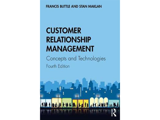 Favoriete boeken - cover van het boek Customer Relationship Management - Concepts and Technologies